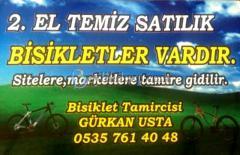 Bisiklet Tamircisi Gürkan Usta